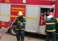 Corpo de Bombeiros faz simulação de incêndio no Hospital Municipal