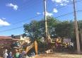 Ponte da rua Dulce Torres Brochado: concluída etapa mais difícil da obra
