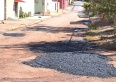 Prefeitura retoma operação tapa-buracos