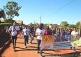 Caminhada alerta contra violência sexual de crianças e adolescentes: CHEGA DE SILÊNCIO! DENUNCIE