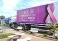 """Mamografia:  carreta """"mamamóvel""""estará na praça JK entre 25 e 29 de novembro"""